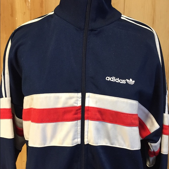 Adidas Jackets Amp Coats Vintage Track Jacket Red White
